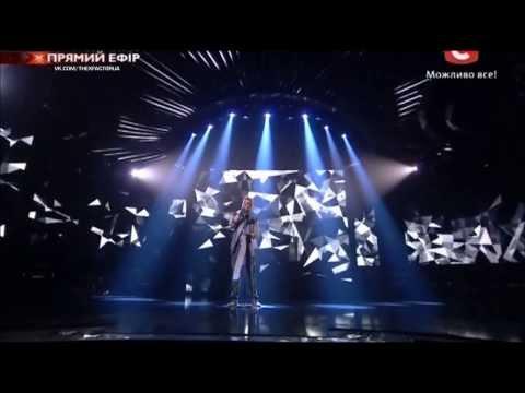 Видео, Евгений Шпаченко 1-й прямой эфир Х-фактор-4