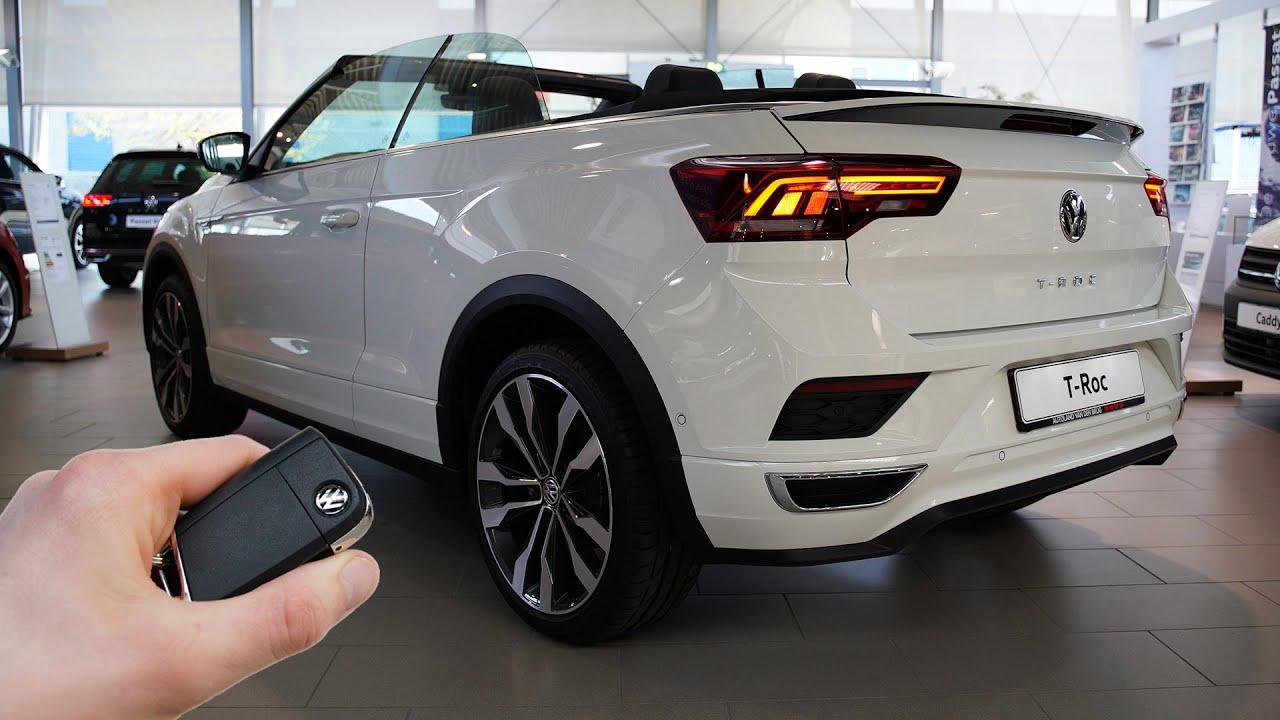 2020 Vw T Roc Cabrio 1 5 Tsi 150hp Sound Visual Review Youtube