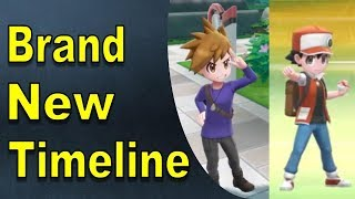 Pokemon Lets Go: Red, Blue, and Leaf Create a New Timelne? [Pokemon Theory] | @GatorEXP