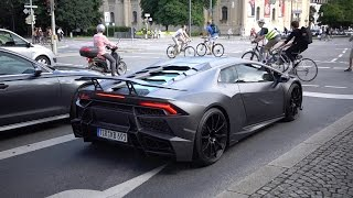 1,250HP Mansory Huracán Torofeo on Public Street - Loud Sounds
