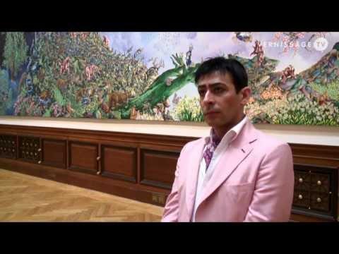 Raqib Shaw at Galerie Rudolfinum, Prague