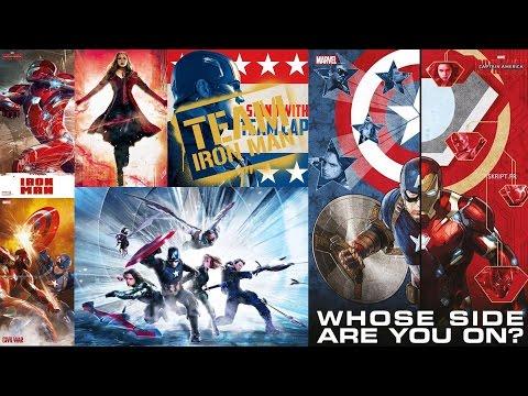 Captain America: Civil War Promo Art Released - Collider
