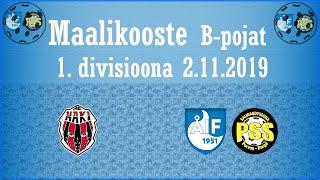 Maalikooste AC Haki - ÅIF/PSS (B-pojat 1.Divisioona 2.11.2019)