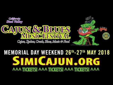 Simi Valley Cajun & Blues Festival Promo 2018 - musicUcansee.com - SimiCajun.org
