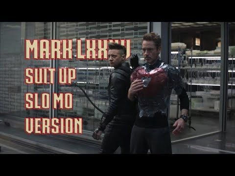 Iron Man Mark 85 Suit Up In Slow Motion