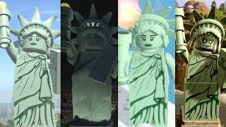 Statue of Liberty Evolution in Lego Videogames!!!! thumbnail