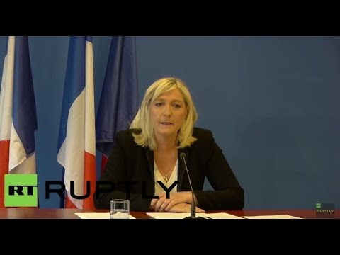 LIVE: Le Pen presents results of the French parliamentary delegation at MENL event