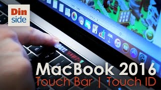MacBook Pro 2016 unboxing - med Touch Bar og Touch ID
