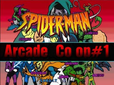 Spiderman Arcade Co op Pt 1