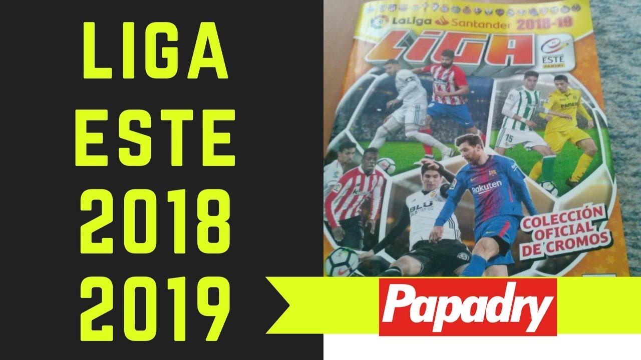 ALBUM LIGA ESTE 2018 2019