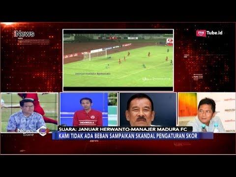 PSSI Ditantang Bongkar Skandal Pengaturan Skor di Club Sepak Bola - iNews Sore 05/12