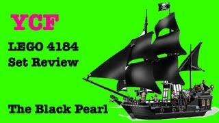 LEGO Pirates of the Caribbean The Black Pearl Set Review - LEGO 4184
