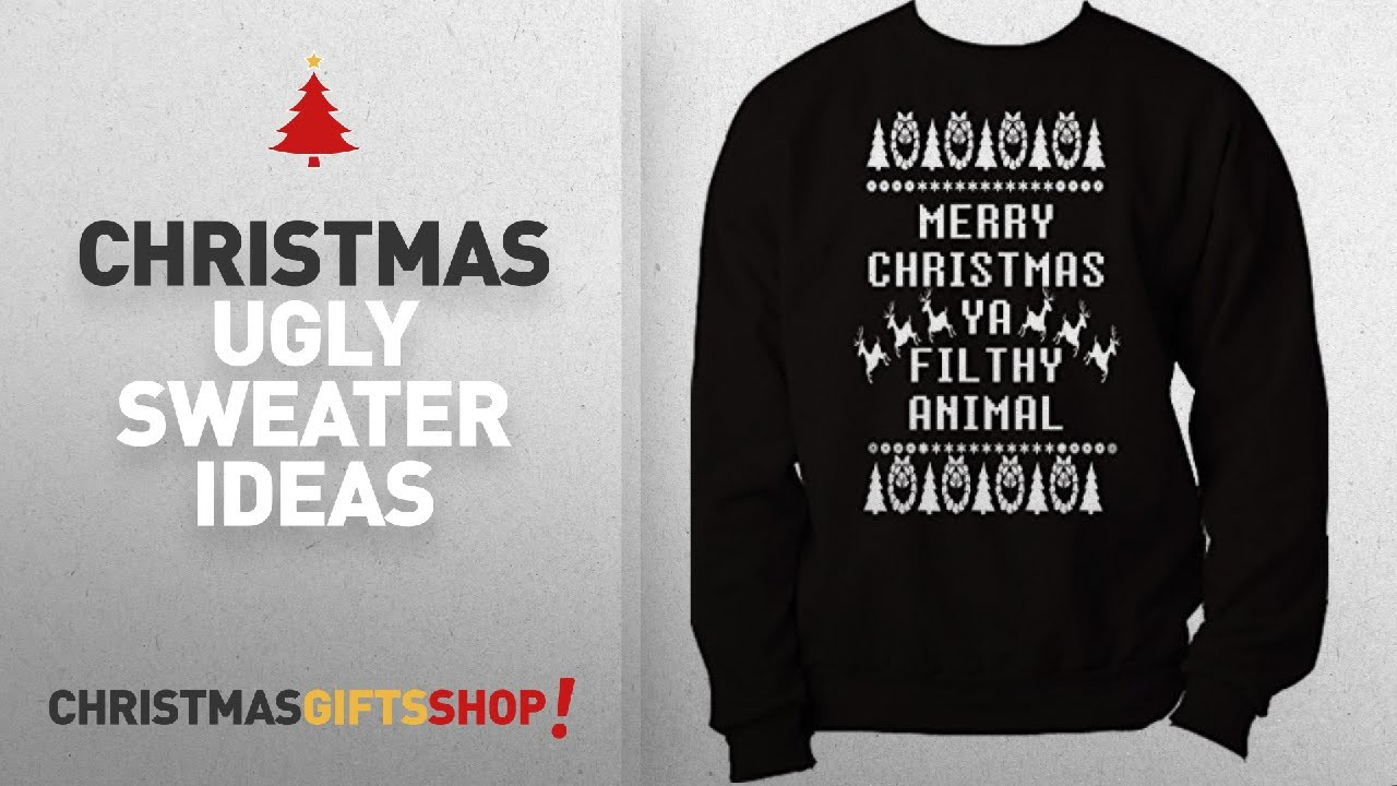 Animal Kingdom Christmas Shirt.Custom Kingdom Christmas Ugly Sweater Ideas Custom Kingdom Mens Merry Christmas Ya Filthy Animal