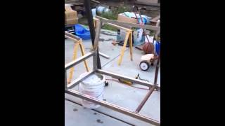 Making A Metal Swing Set Part 1