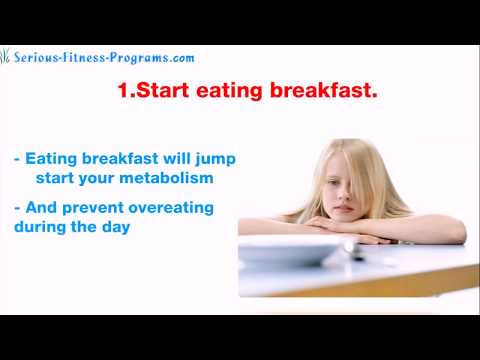 7 Tips How To Lose Weight Fast For Teenager