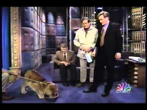 Jim Fowler's Animals on Conan 1997