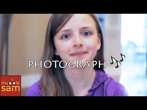 PHOTOGRAPH - ED SHEERAN | 12-Year-Old Sophia