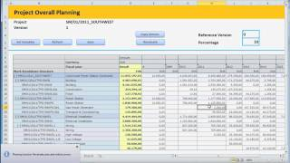 3. Sap Planning: Excel Upload For Sap Project Planning