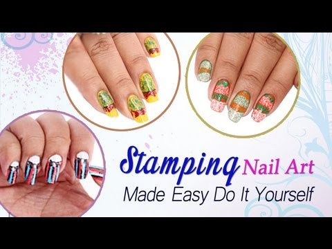 Stamping nail art designs do it yourself youtube Diy nail art ideas youtube