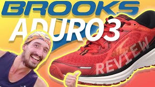 Brooks Aduro 3 Running Shoes Review