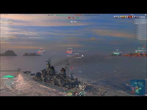 World of Warships 0.7.2.2 USS missouri
