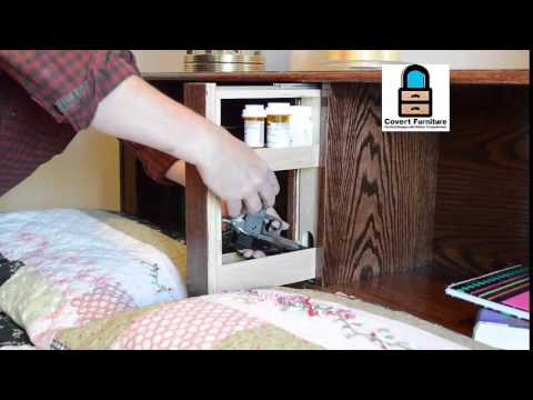 Bed Headboard With Hidden Compartments Youtube