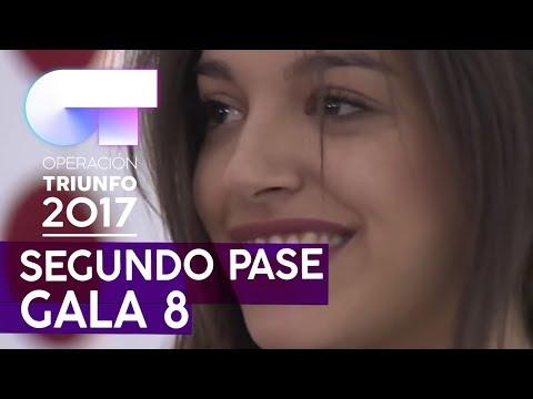SAX - Ana Guerra   Segundo pase de micros para la Gala 8   OT 2017
