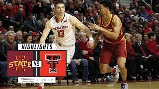 Iowa State vs. No. 8 Texas Tech Basketball Highlights (2018-19)   Stadium