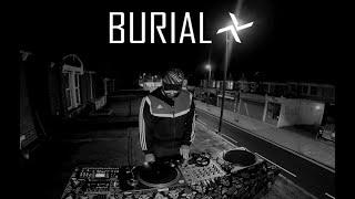 BURIAL Vinyl Mix - A Rooftop Lockdown DJ Set by Manson X