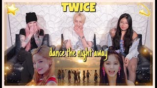 TWICE (트와이스) - Dance The Night Away MV REACTION!
