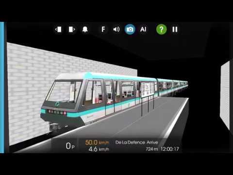 HMMSIM 2 RATP Subway Line 1