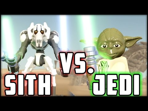 LEGO Star Wars The Force Awakens - Yoda vs. General Grievous - Jedi vs Sith!