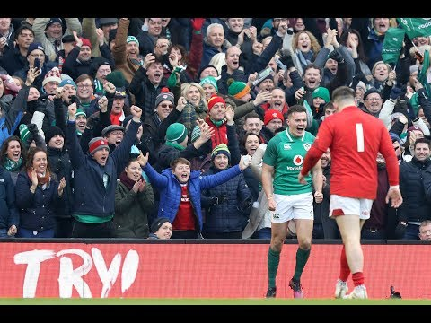 Stockdale seals victory with fantastic intercept try! | NatWest 6 Nations