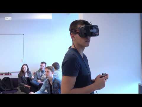 TvZG.pl - Roboty i wirtualna rzeczywistość na UZ