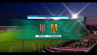 Fútbol en vivo. Instituto - Santamarina. Fecha 31. Primera B Nacional. FPT