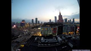 Путевые Заметки в Time Lapse: ВАРШАВА - ОТ ЗАКАТА ДО РАССВЕТА ( Warszawa - From Dusk till Dawn )