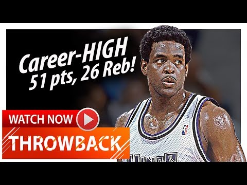 Throwback: Chris Webber Career-HIGH Highlights vs Pacers (2001.01.05) - EPIC 51 Pts, 26 Reb, 5 Ast!