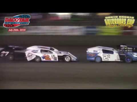 Dacotah Speedway IMCA Modified B-Mains (7/26/19)