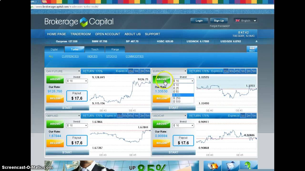 Making a fortune with binary options how to make a vegas bet on foitball