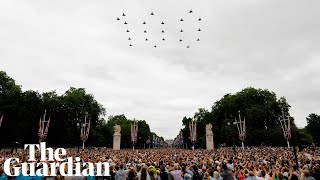 RAF celebrates 100 years with 100-aircraft flypast