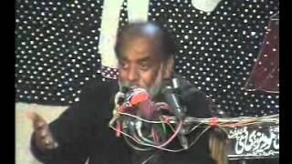 ZAKIR SYED SABIR HUSSAIN SHAH OF BAHIL MUSAIB MASOM SOKANA YADGAR  MAJLIS AT OCH GUL IMAM