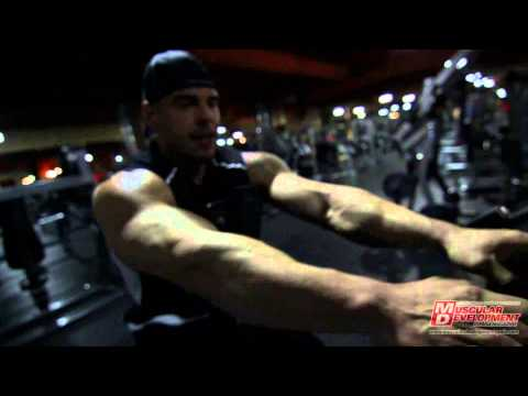 Sergio Fdez & Andrew - Back Workout in Las Vegas. Protein House Crew Workout!!!!!!