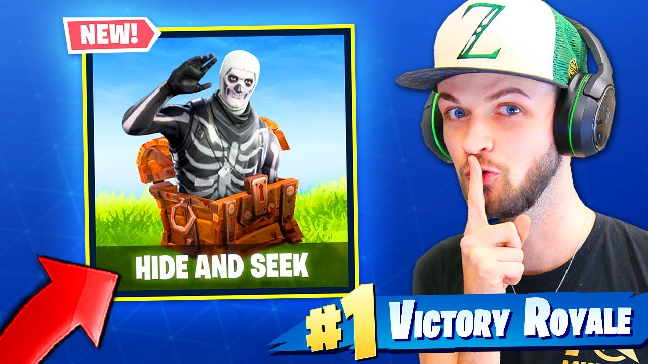 *NEW* HIDE & SEEK MINI-GAME in Fortnite: Battle Royale!