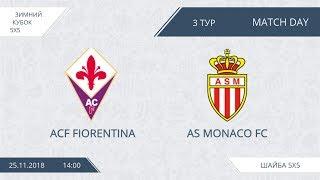 ACF Fiorentina 2:5 AS Monaco FC, 3 тур