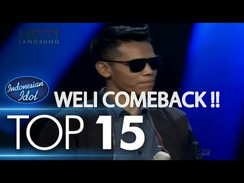 LUCU ABISS!! Trio Gabe ( Weli ) Bikin Juri Ngakak Dengan Pantun - Top 15 - Indonesian Idol