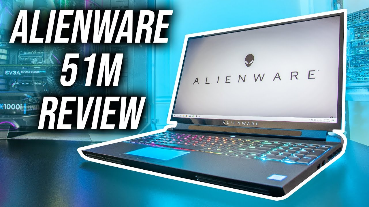 Alienware Area 51m Gaming Laptop Review - 9900K + RTX 2080 Power!