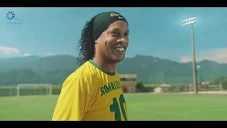 Ronaldinho De Assis commercial by Blue-Monkeys.com