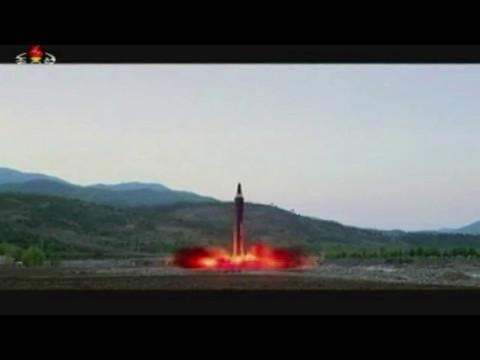 Hwasong-12 Missile Launch, May 14 2017 North Korea