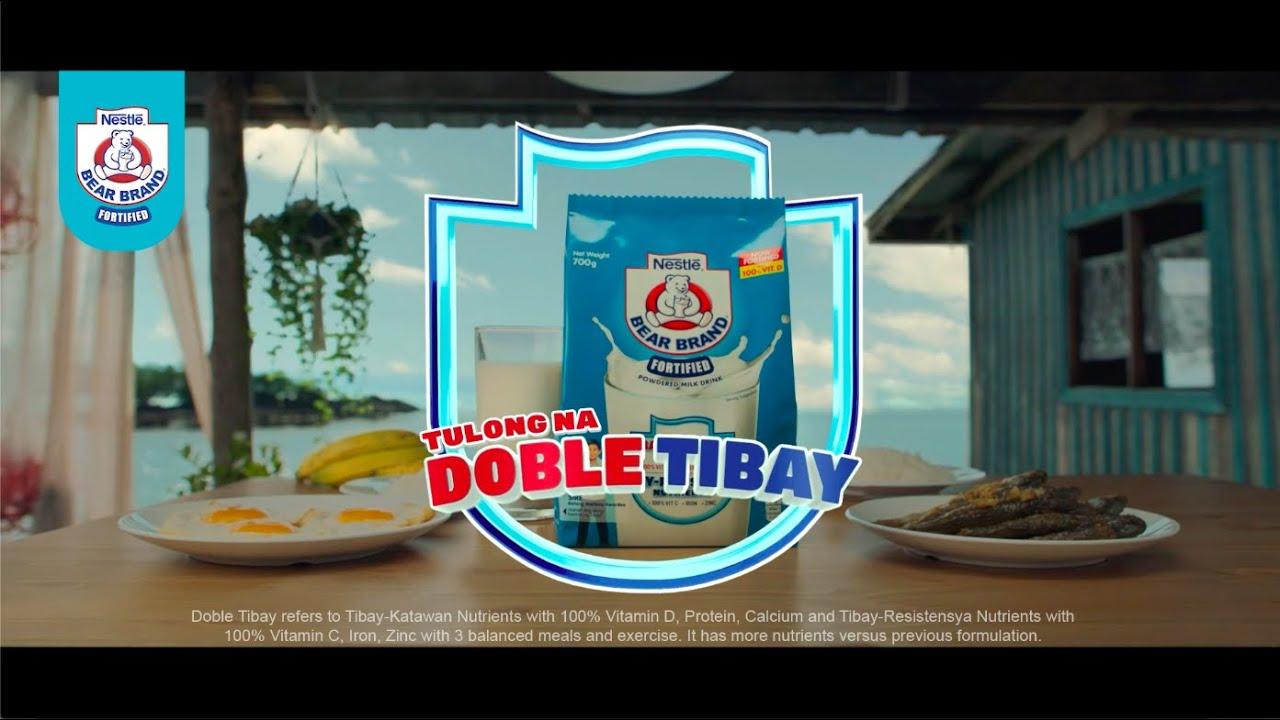 DOBLE TIBAY | BEAR BRAND® Fortified Powdered Milk Drink