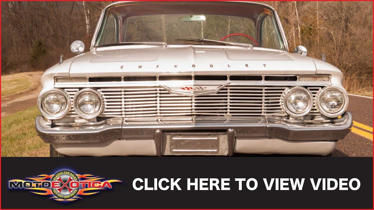 1961 Chevrolet Impala Bubbletop Sold Youtube Bubble Top